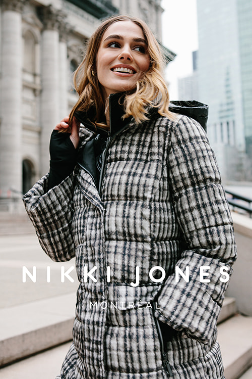 Nikki Jones model
