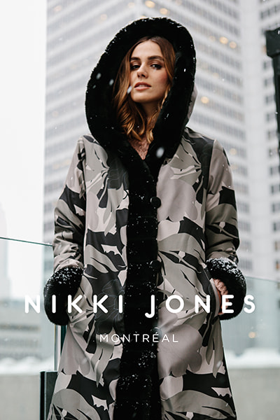 Nikki Jones model wearing apparel